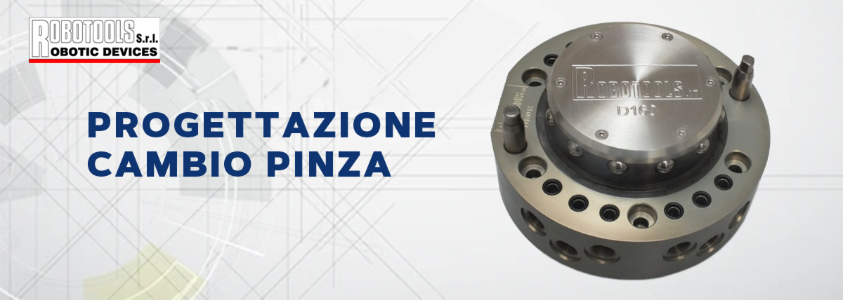 cambiop pinza robotools italia