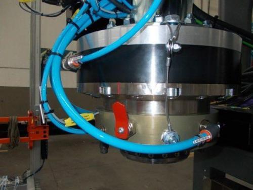 Robotools robotic decices Turin. Anticollisione modello  RAC DN 350, portata 700 Kg.